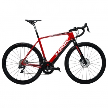 Look E-Road Bike 765 ULTEGRA DI2 red