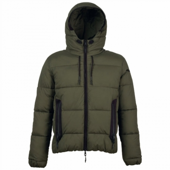 Arena M Padded Hooded Jkt army