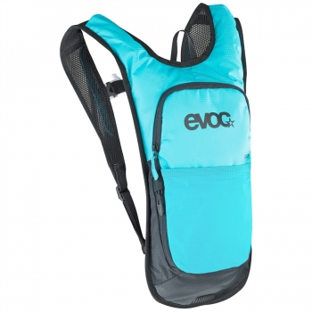 Evoc CC 2L Backpack + 2L Bladder neon blue
