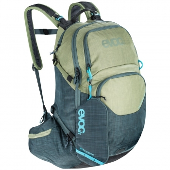 Evoc Explorer Pro 26L Backpack heather olive/heather slate