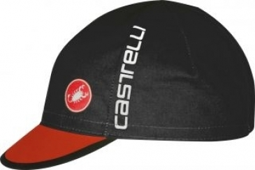 Castelli Free Cycling Cap Black/Red