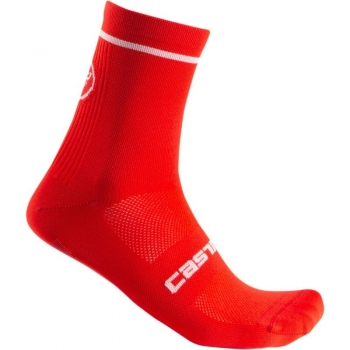 Castelli Entrata 9 Sock Red