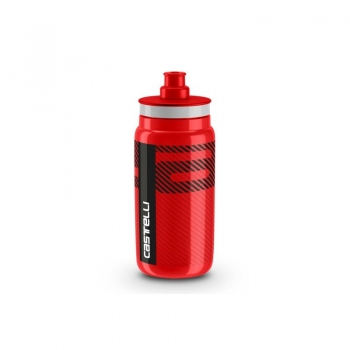 Castelli Water Bottle Red