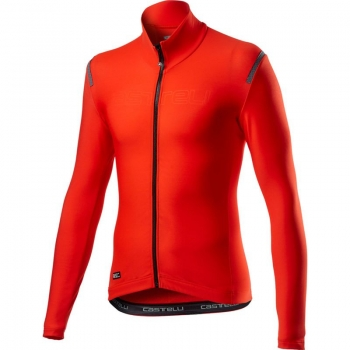 Castelli Tutto Nano RoS Jersey Fiery Red