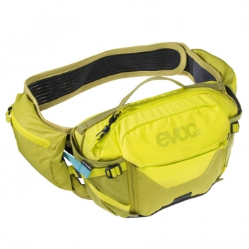 Evoc Hip Pack Pro 3L + 1,5L Bladder sulphur/moss green