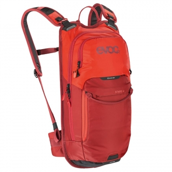 Evoc Stage 6L Backpack + 2L Bladder orange/chili red