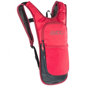 Evoc CC 2L Backpack + 2L Bladder red