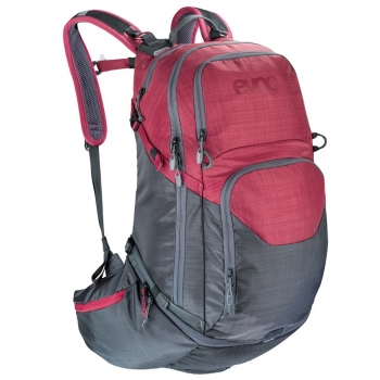 Evoc Explorer Pro 30L Backpack heather carb grey/heather ruby