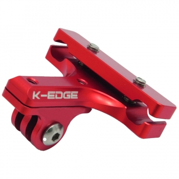 K-Edge K-EDGE GO BIG Pro Saddle Rail Mount red