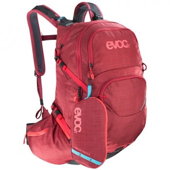 Evoc Explorer Pro 26L Backpack heather ruby