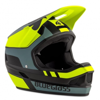 Bluegrass MTB Legit Helm black neon yellow
