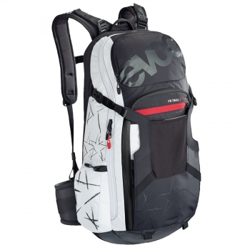 Evoc FR Trail Unlimited 20L Backpack black/white
