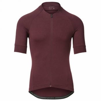 Giro M New Road Jersey ox blood heather