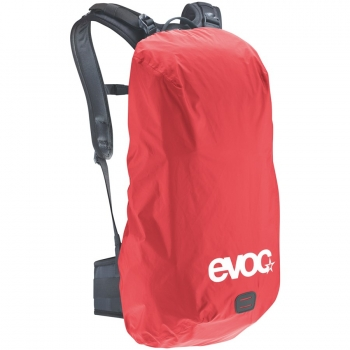 Evoc Raincover Sleeve red