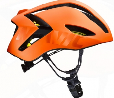 Mavic Comete Ultimate MIPS Helm red orange