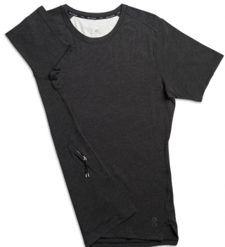 On Comfort T Laufshirt Herren black