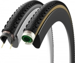 Vittoria Terreno Dry Tubeless Ready Cyclocross Tire, 320 TPI Anthracite Sidewall 700-38
