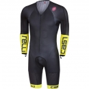 Castelli Body Paint 3.3 Speed Suit Ls Black/Yellow Fluo