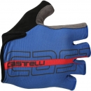 Castelli Tempo Glove Surf Blue/Red