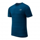 New Balance Q Speed Fuel Jacquard Short Sleeve rogue wave heather