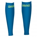 Arena Unisex Carbon Compression Calf Sleeves electric blue