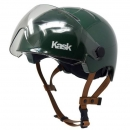 Kask Urban Lifestyle, Helm für City/E-Bike mit Rauchglasvisier Metal Green